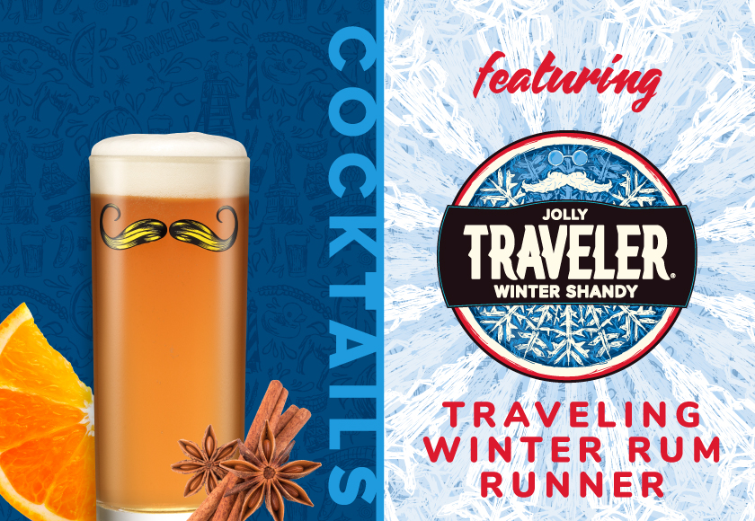 Traveling Winter Rum Runner